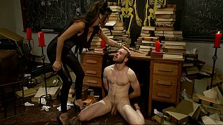 Gia DiMarco dominating Jesse Carl