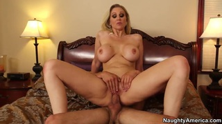 Busty milf Julia Ann pleasures Tyler Nixon