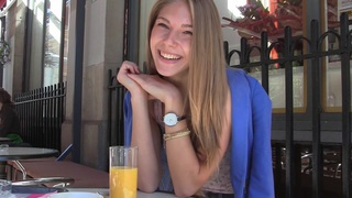 Anjelica in hot homemade video showing a cute in-love couple