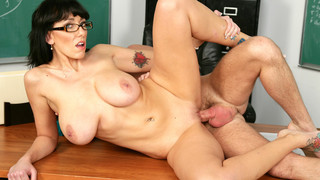 Alia Janine & Dane Cross in My First Sex Teacher