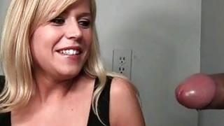 Dirty girl wants a cum shot on gloryhole
