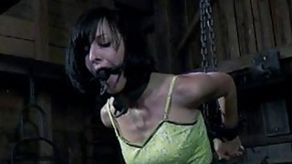 Masked beauty with bare cunt acquires drubbing