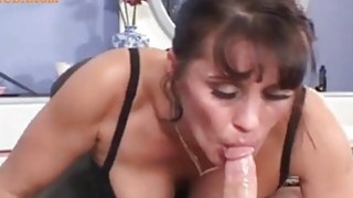 milf mom helping out her sick son