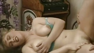 Busty amateur blonde GF sucks and fucks with cum
