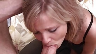 Pretty Blonde Teen Receives Rough Face Fucking