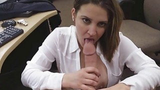Sexy hot chick pussy ripped open for some quick ca