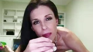 Horny Milf Makes Stepson Show His Throbbing Cock