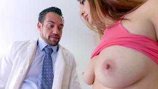 Dr. Castle calls in Jewels Jade to show Mackenzie Lohan Jewels's big enhanced tits