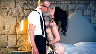 Hot and passionate petite chick with burning desires