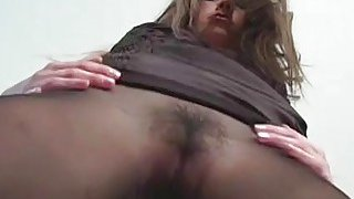 Overwhelming smutty cleft stretching
