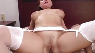 Amber Moon Sucks A Big Black Cock