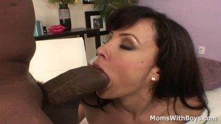 Ass Sexy MILF Lisa Ann Fucking Hard Black Cock