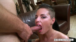 Exciting tattooed bombshell Christy Mack fucks with lucky boy