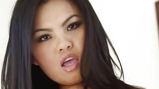fine japanese girl throated really hard