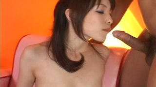 Tempting girl Arisa Suzuki prefers solso masturbation