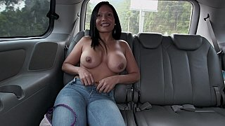Colombian ass in Colombian bus