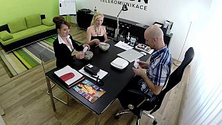 European job interview