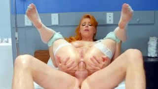 Penny Pax gets assfucked in reverse cowgirl position