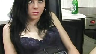 Two nasty babes masturbate in their homes and get filmed by spy cam