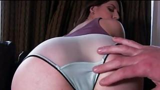 Big butt babe Samantha Bentley analyzed