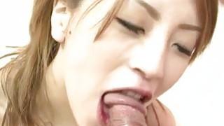 Schoolgirl Yuu Mahiru goes nasty over a fat dong?