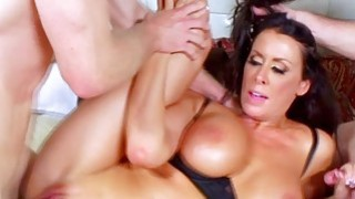Reagan Foxx in a heated afternoon threesome sessio