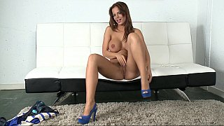 Black Angelica gets fucked in doggy style