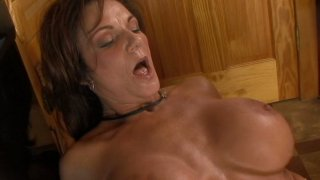 Extremely active milf slut Deauxma fucks skinny guy