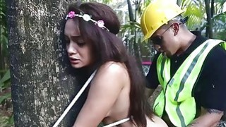 Flower Child Dicked Down Outdoors