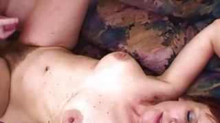 Naughty Stepson Fucks His Hairy Pussied Stepmom