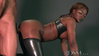 BDSM XXX Caged subs are humiliated before being taught