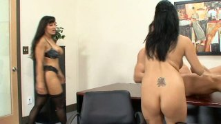 Lisa Ann & Sativa Rose know what to do with strong cocks