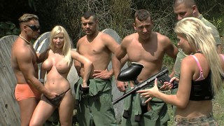 Paintballing for titties Part 2