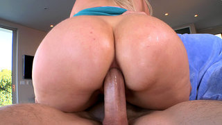 Anal MILF Alana Evans getting fucked ass to mouth