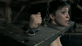 The guys from Infernal Restraints buil the freakiest cage for Mei Mara