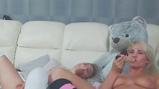 Drunk Teenage Friends Are Having Hot Lesbian Sex